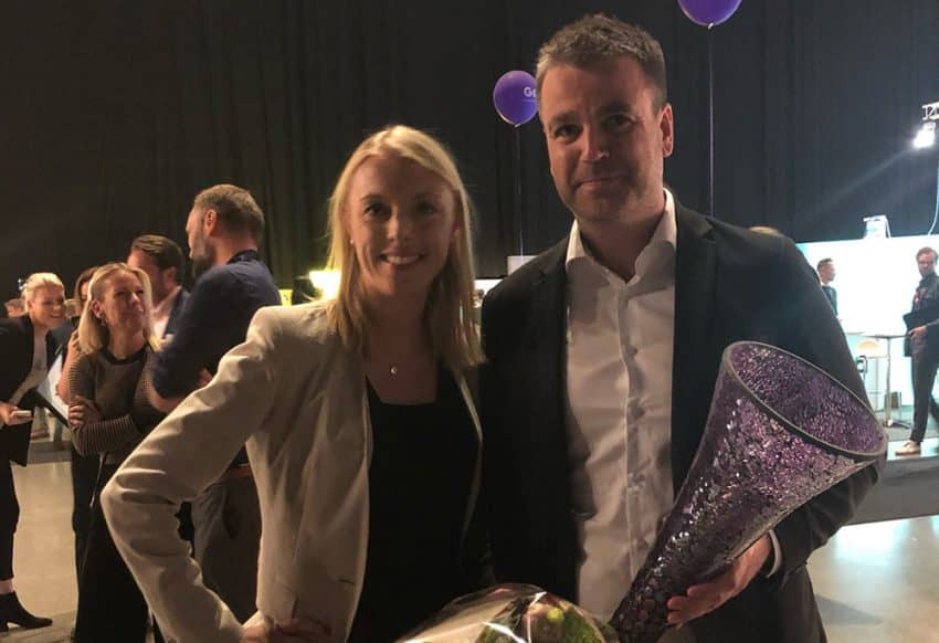 Jollyrooms Ole Sauar tog hem NXT Nordic Profile of the Year