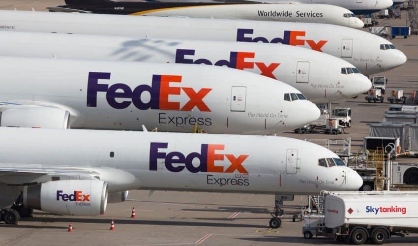"""FedEx gör slut med Amazon: """"Ett strategiskt beslut"""""""