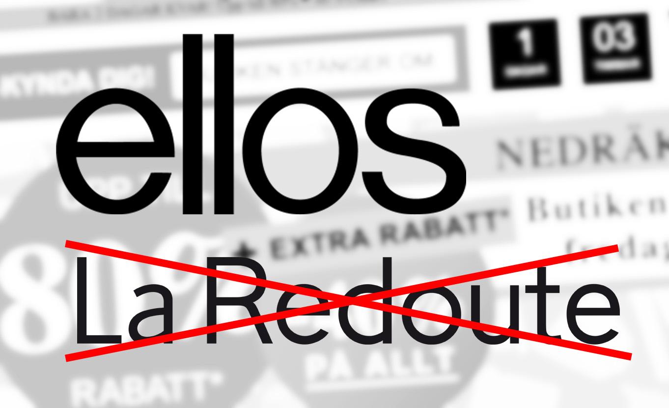 """La Redoute bekräftar: """"Vi lägger ner i Norden"""""""