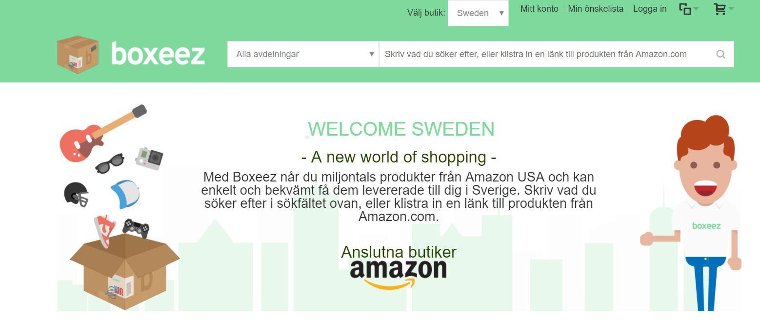 Ny sajt ska hjälpa svenskarna att handla från USA