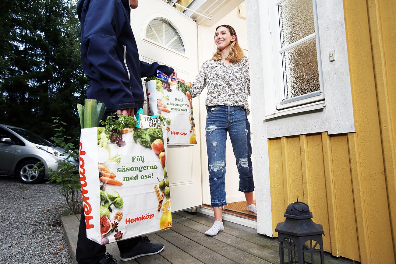 Hemköp tar e-handeln utanför storstäderna