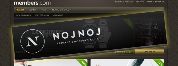 Members.com käkar upp en annan shoppingklubb
