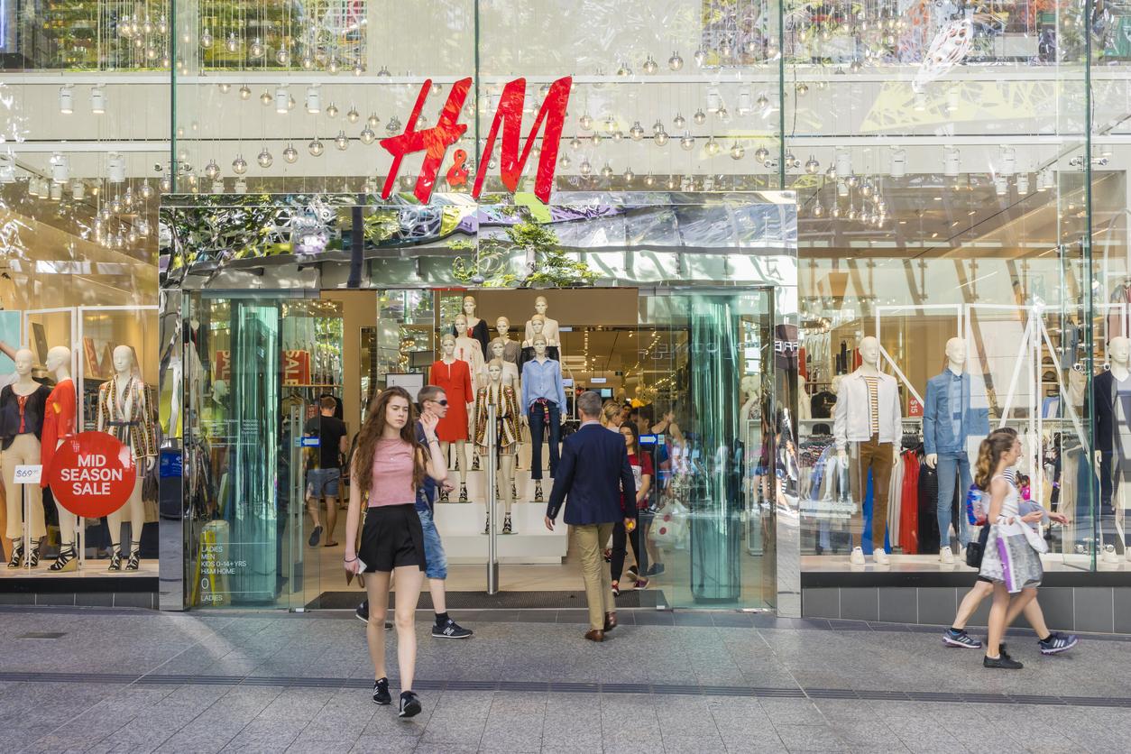 E-handeln däckar H&M - aktien föll med 4 procent