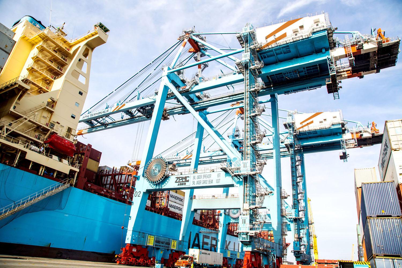 Oro i e-handeln efter konflikten i Göteborgs hamn