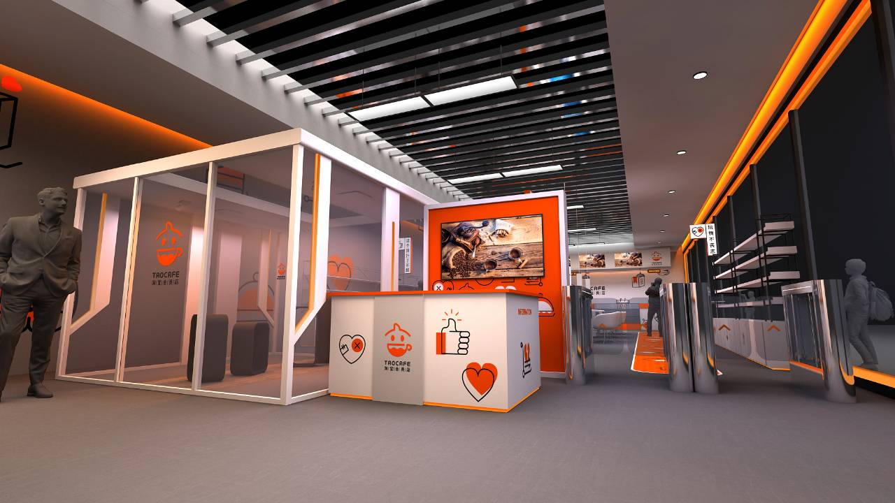 Alibaba ger sig in i leken - testar obemannad butik i Kina