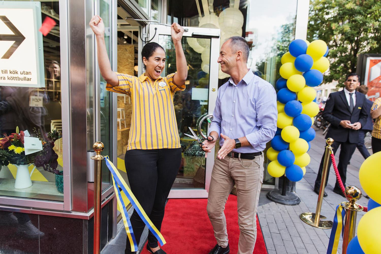 Premiären avklarad för IKEA:s första e-handelspopup