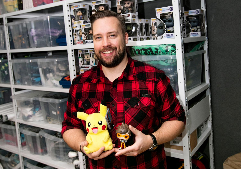 Gamern som gjorde e-handel av sina favoritspel