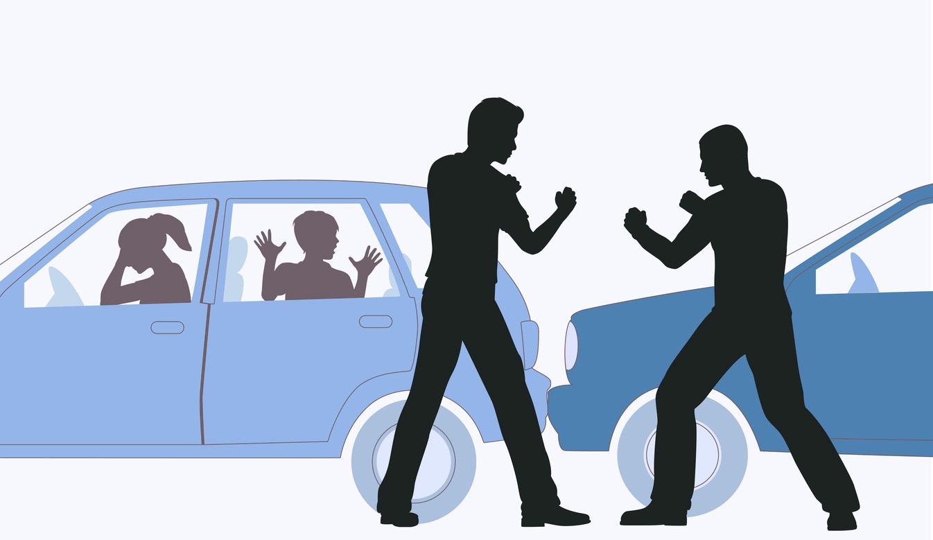 PostNord-chaufför misshandlar bilist på motorväg