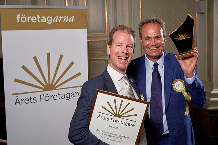Tailor Stores ägare blev Årets Företagare i Skåne