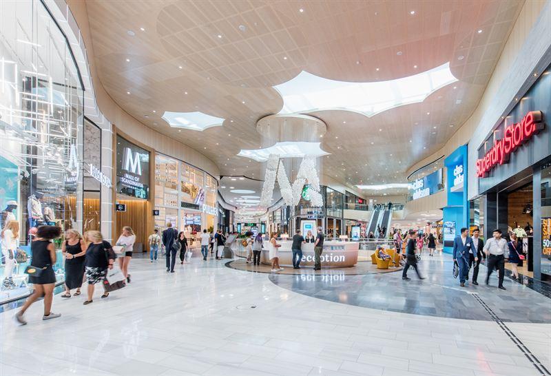 E-handelns starka tillväxt gör att köpcentrumen saktar in