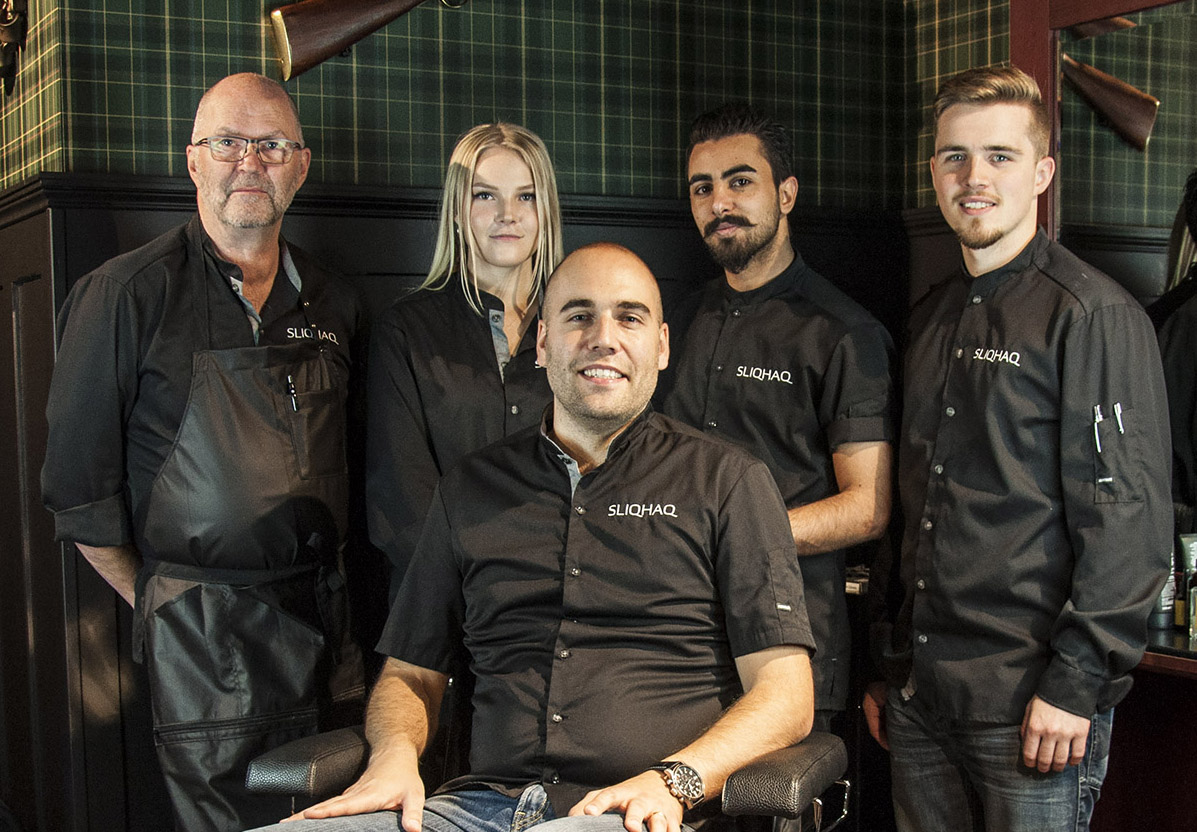 Sliqhaq slog fem miljoner - barbershop nu invigd