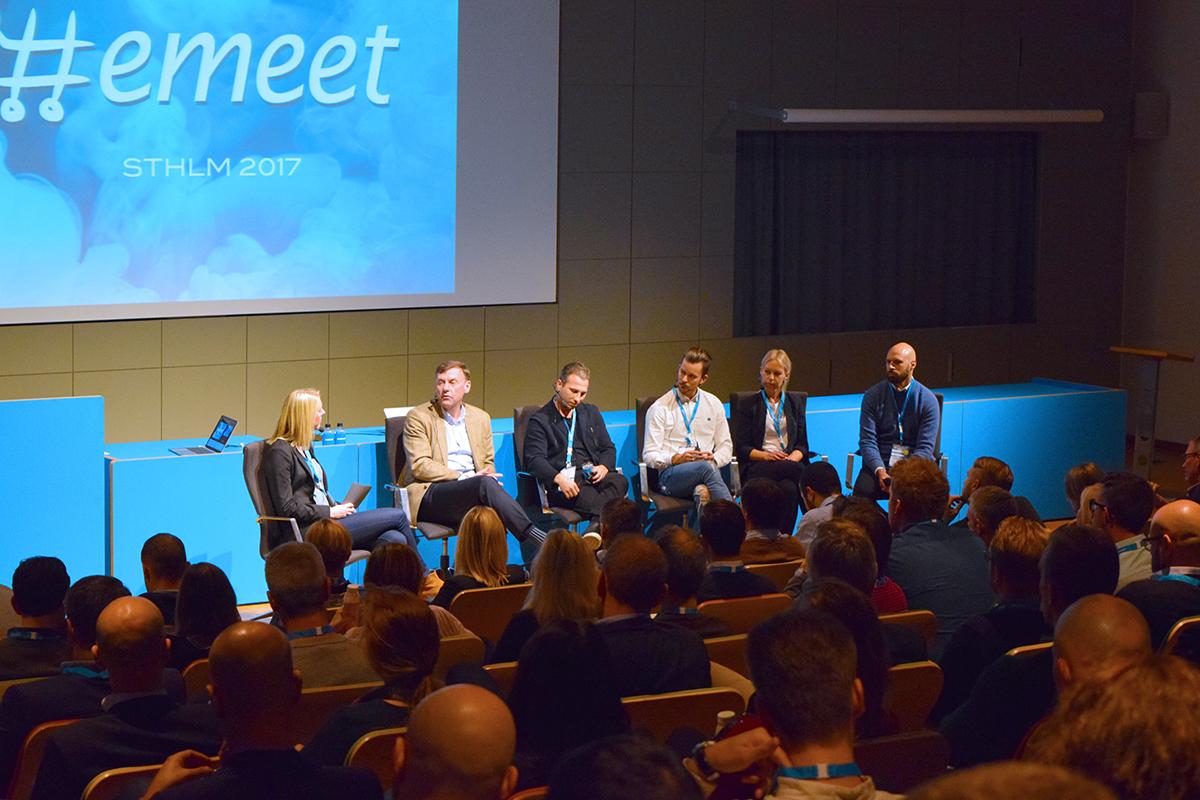 E-handlare och fraktbolag i het debatt på Emeet