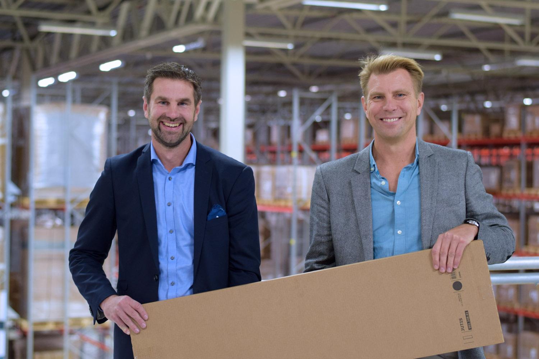 Stor invigning av IKEA:s nya e-handelslager