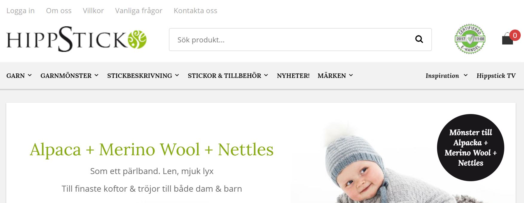 Ny plattform gav nytändning åt stickbutik på nätet