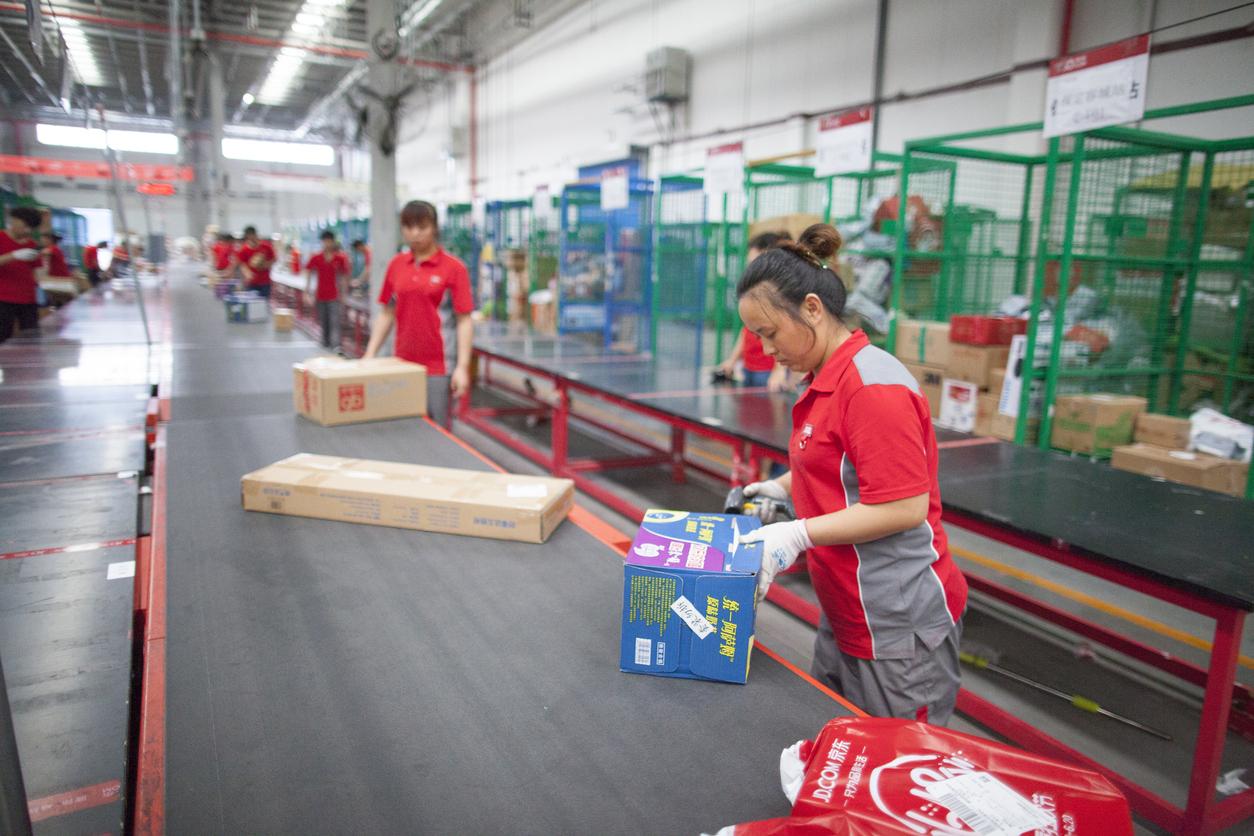 Kinas e-handel går över gränsen - passerar 10 biljoner