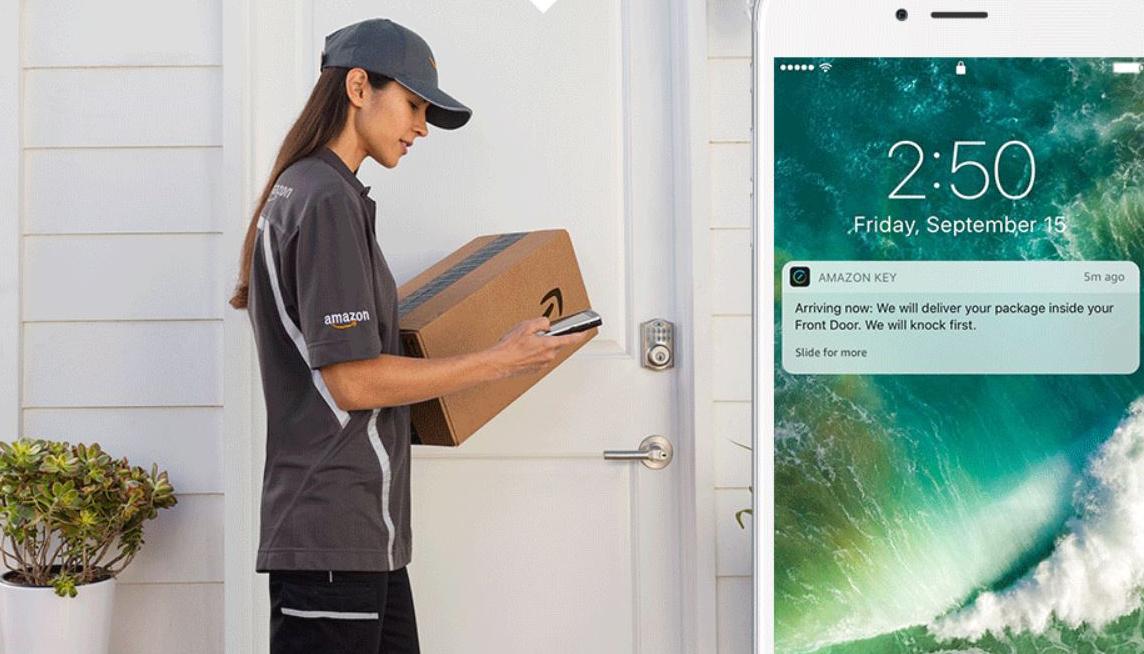 Endast4% vill ha Amazons innanför dörren-leverans