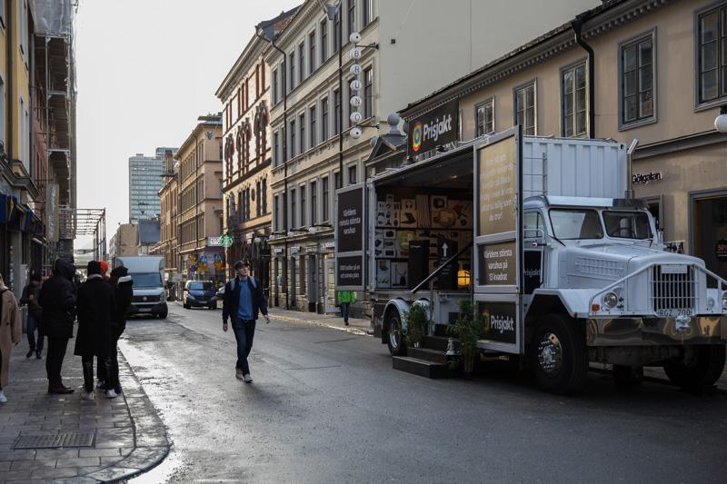 Prisjakts lastbil ska visa vägen i Black Friday-djungeln