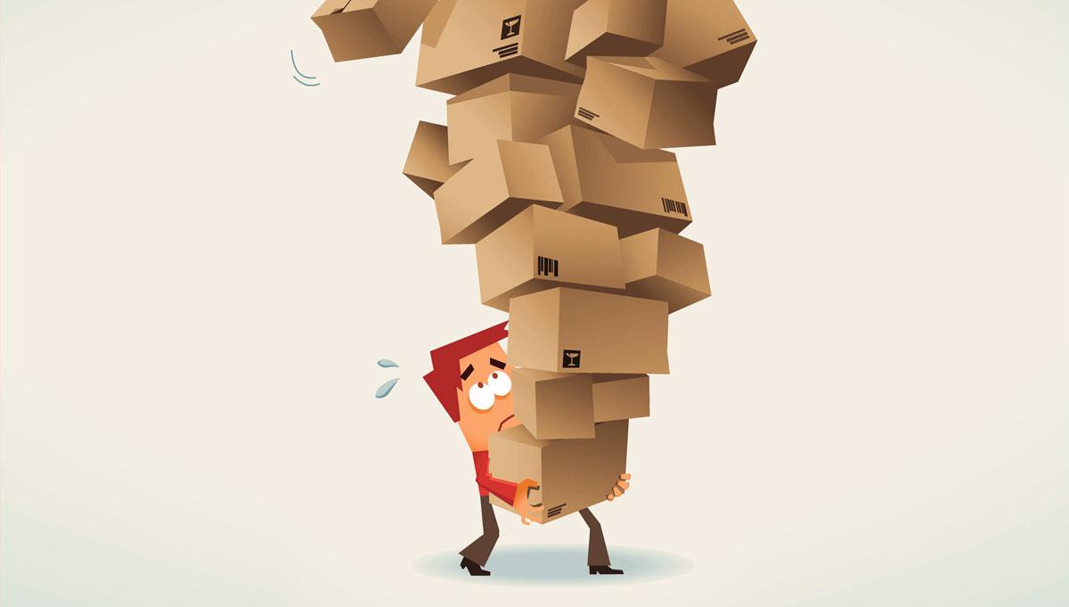 PostNord inte det enda fraktbolaget med paketkaos