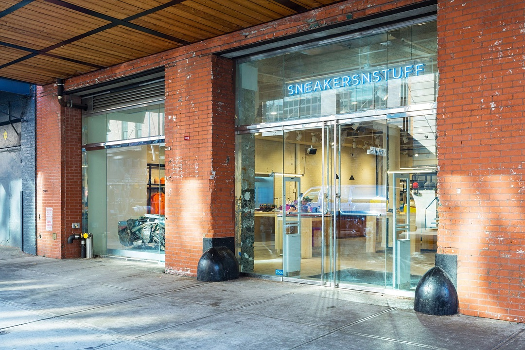 Sneakersnstuff öppnar fysisk butik i New York