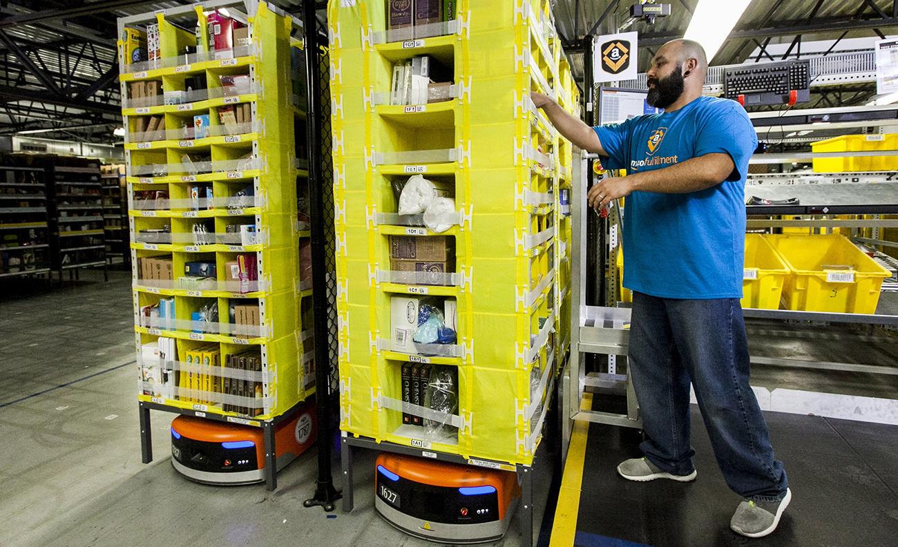 Amazon i Europa drabbas av ny högsäsong-strejk