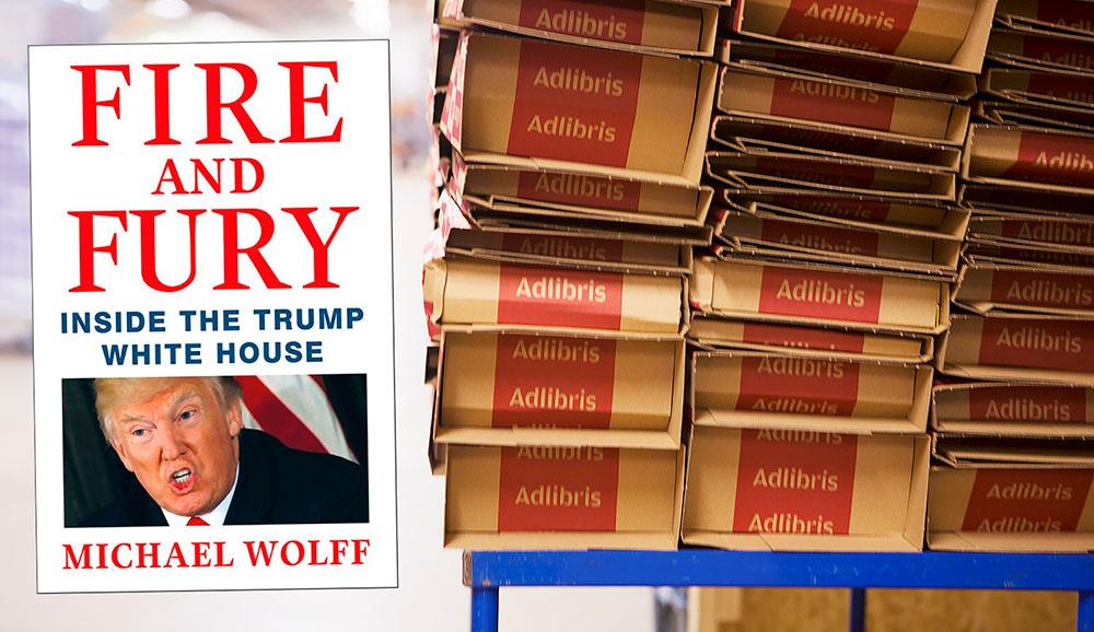 Skvallerbok gjorde Trump till bästsäljare på Adlibris