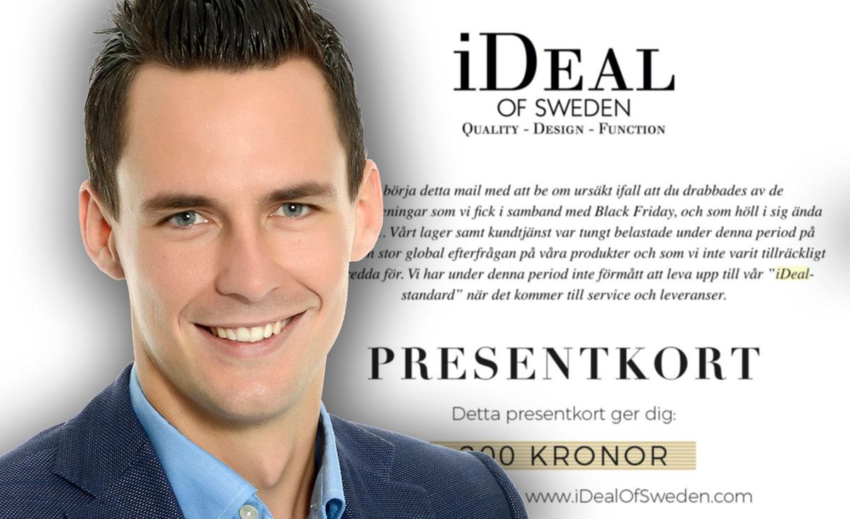 iDealofSweden i orderkaos - nu kompenseras kunderna