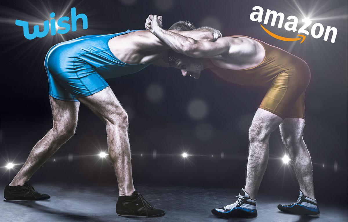 Amazon känner pressen - utmanar shoppingappen Wish