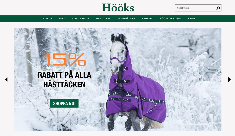 """Hööks e-handel prisas igen - """"bäst i Sverige"""""""