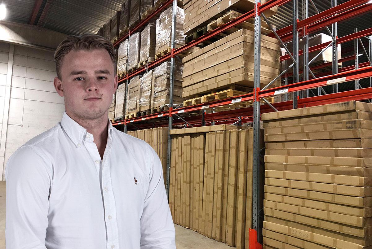E-handlare går från skjul till höglager på 4000 kvm