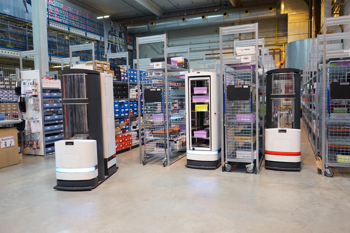 Nya lagerrobotar intar Sverige - tar in 200 miljoner kronor