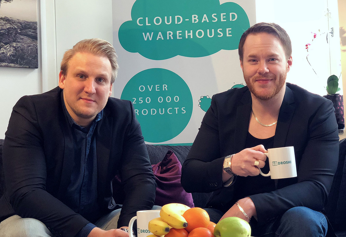 Global DHL-chef investerar i svenska Droshi