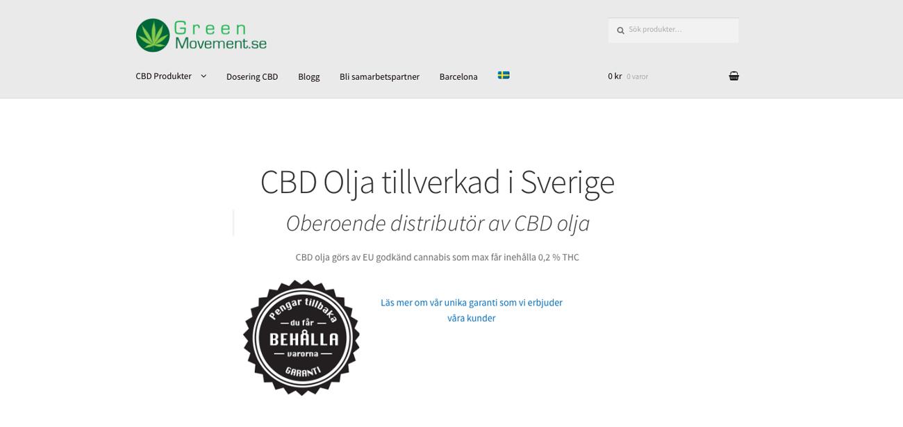 Cannabisolja stoppades i tullen - nu avgörs e-handlarens framtid