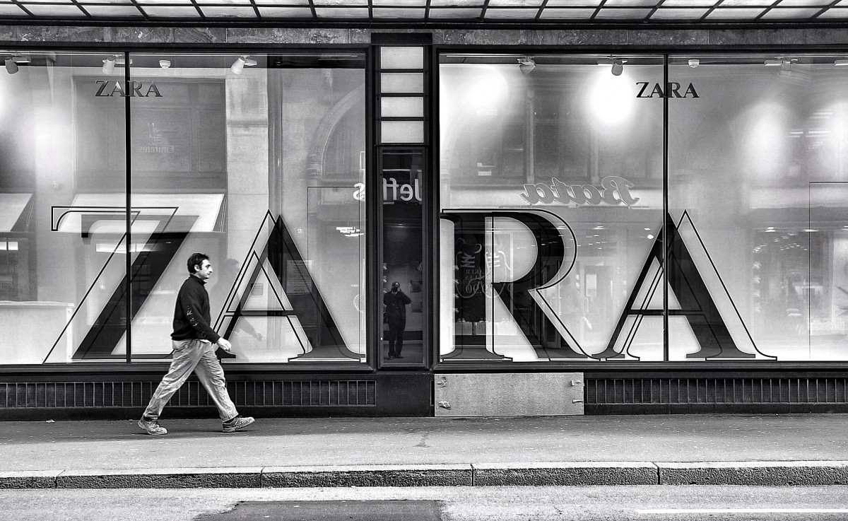 Zara ökar med 40% online