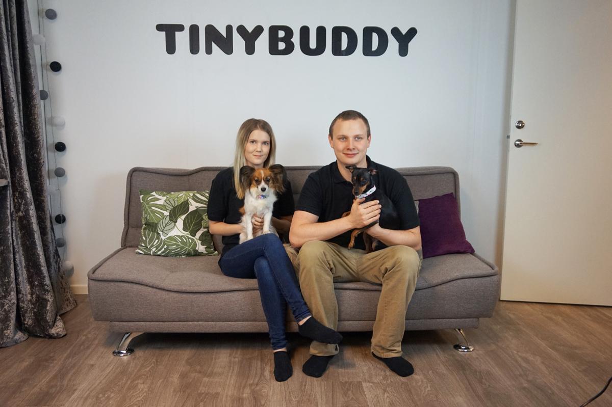 """Tinybuddys succéår: """"Ett ton hundgodis i köket"""""""