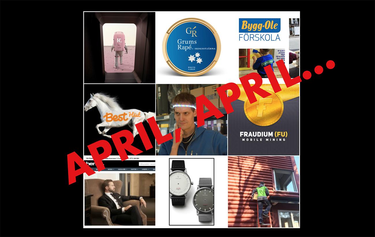E-handlarnas bästa aprilskämt
