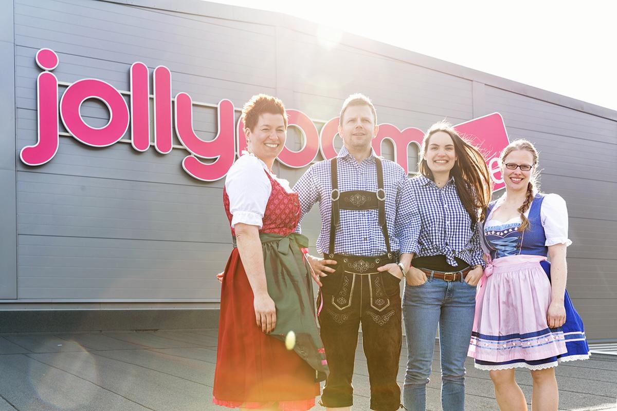 Jollyroom till Tyskland - storsatsningen live i dag