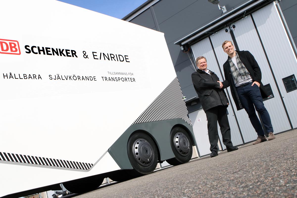 Fraktjätte testar självkörande lastbil - Sverige först ut