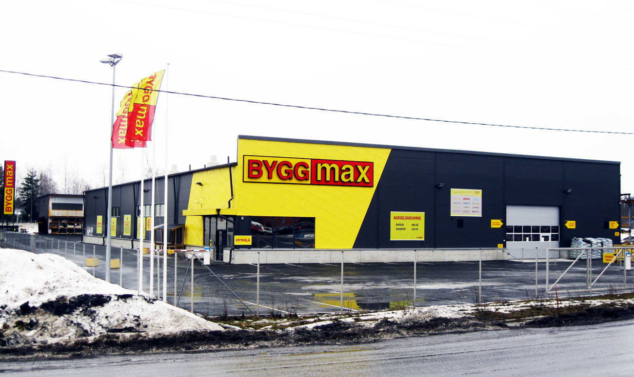 Byggmax minskar resultatet med 90 miljoner