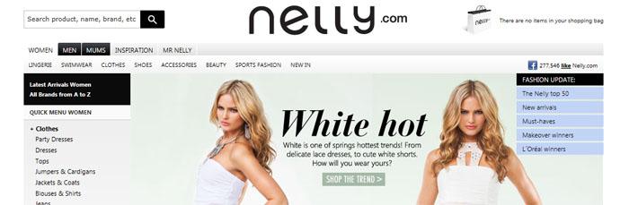 Nelly.com öppnar lokalt i Storbritannien