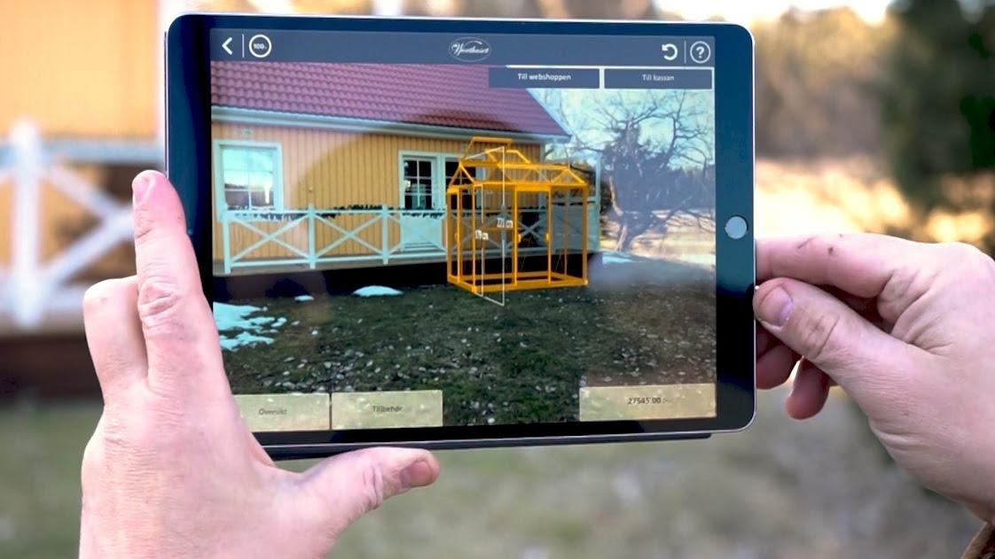 Svensk e-handlare först ut med 3D-verktyg för växthus