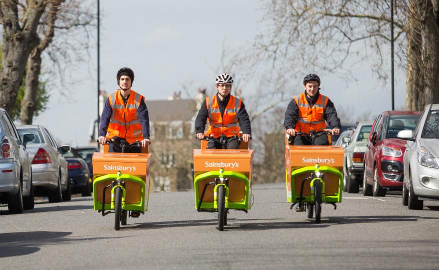 Kan elcyklar lösa sista milen-leveranserna i storstäder?