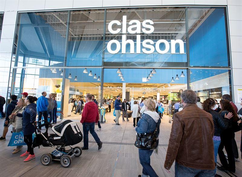 Clas Ohlson omsätter 295 miljoner kronor i sin e-handel