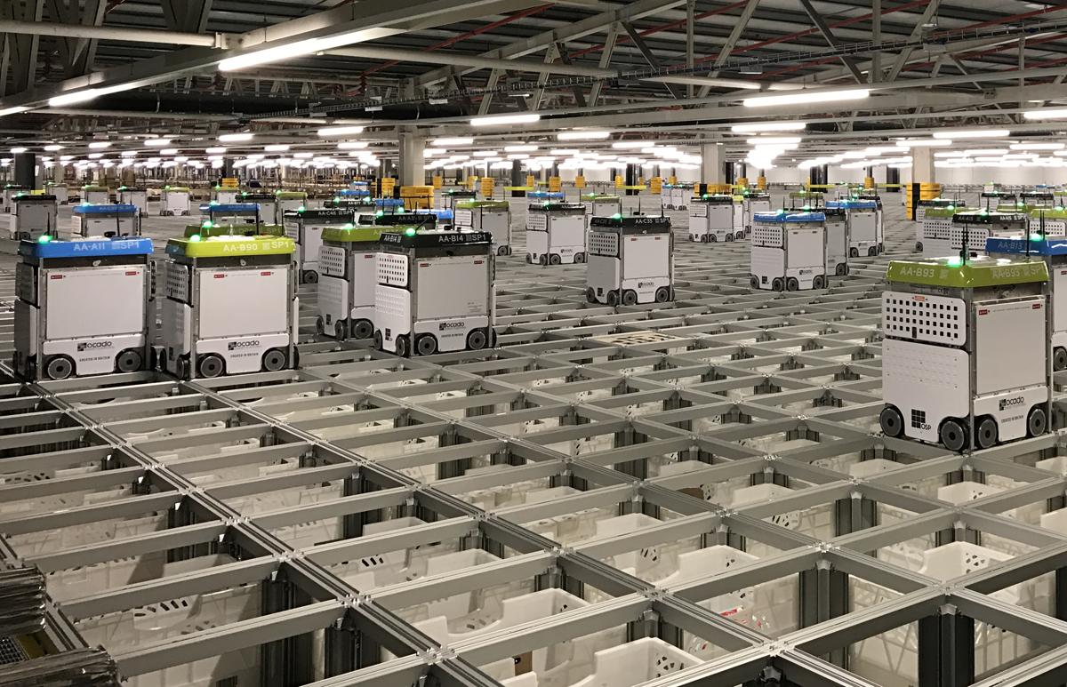 Biljonbolag köper samma robotlager som ICA