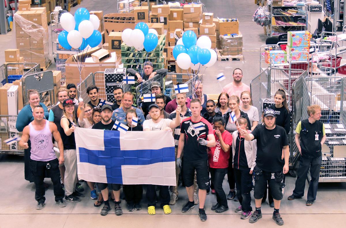 """Partykungen till Finland: """"Undviker onödig stress"""""""