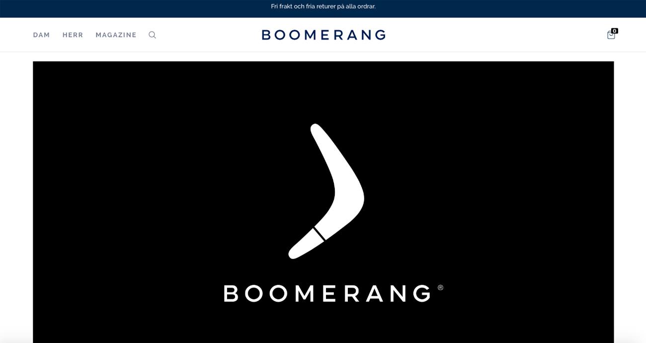 Boomerang gör comeback - går all in på e-handel