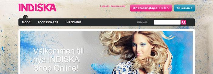 Norge är nästa destination för Indiska Shop Online