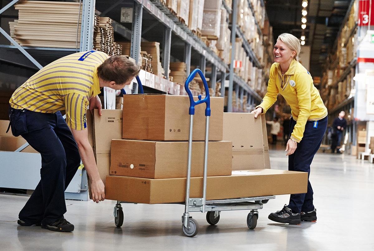 IKEA inför hemleverans inom 24 timmar - för 998 kronor