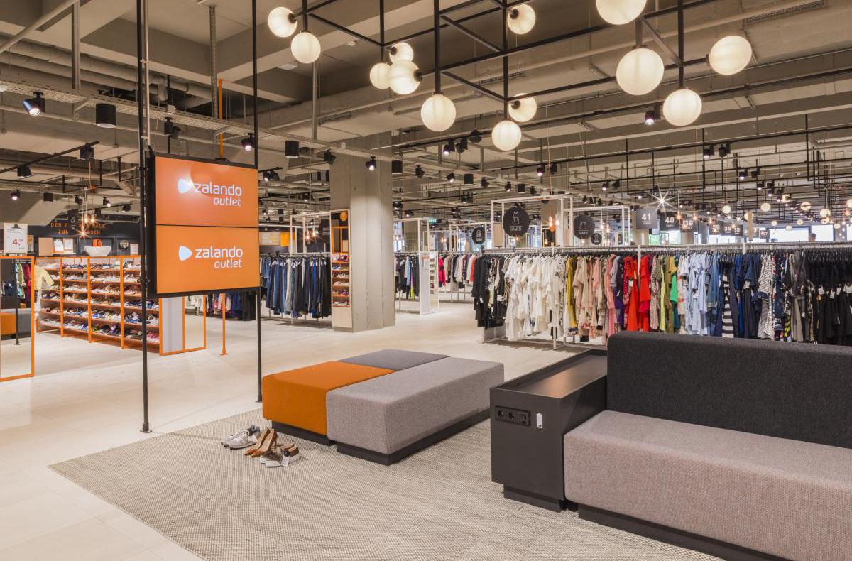 E-handelsjätte öppnar outlet mitt i stadens centrum