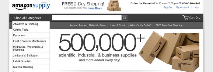 Amazon går B2B med AmazonSupply.com