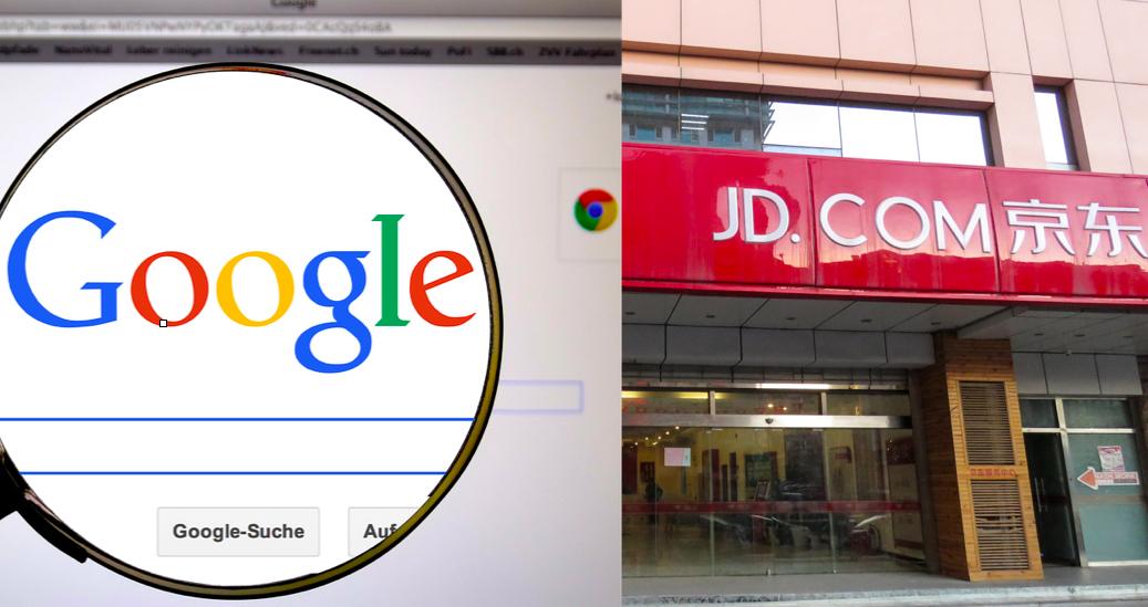 Google investerar 5 miljarder i kinesisk e-handelsjätte